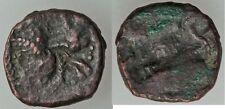 Ancient Persia Sasanian AE 10 Kavad I AD 484-531 Fire Altar