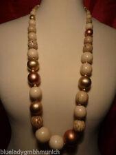 Natürliche Unisex Modeschmuck-Halsketten & -Anhänger aus Holz