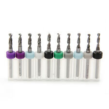 10Pcs 2.1mm-3.0mm PCB Print Circuit Board Carbide Mini Micro Drill Bits CNC New