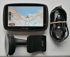 "5"" TomTom GO 500 GPS Sat Nav UK & WEST EUROPE Map & Traffic, Sp. Cam to 08/05/20"