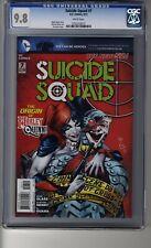 Suicide Squad (2011) # 7 - CGC 9.8 White Pages - Harley Quinn Origin - Joker App
