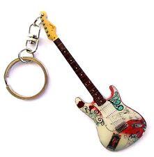 """Fender Stratocaster""- Portachiavi acciaio - Steel keychain - Acero Llavero"