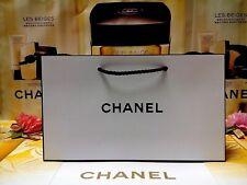 ☾1 PCS☽CHANEL Mini-Size☾L:24 x W:7 x H:14 cm☽White Paper Gift Bag NEW ♡28% OUT♡
