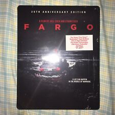 Fargo Blu-ray 20th Anniversary Steelbook | Limited Special Edition | Brand New