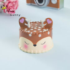 Jumbo  Kawaii Squishy Squishes Choc Dear Cake Taart Slow Rising Cake
