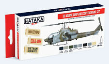 Hataka AS14 US Marine Corps Helicopters Camouflage Paint Set (8 Colors)