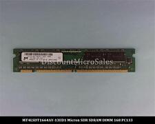 Micron MT4LSDT1664AY-13ED1 SDRAM 128MB PC-133 Non ECC 133Mhz RAM Memory