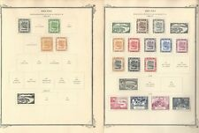 Brunei Collection 1924 to 1958 on 3 Scott Specialty Pages