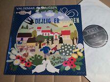 VALDEMAR RASMUSSEN - DEJLIG ER JORDEN - LP - DENMARK 1983