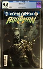 Aquaman #23 CGC 9.8 Joshua Middleton Variant Cover! ONLY 9.8 ON EBAY!!!