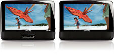 "Philips PD9012 9"" LCD Dual Wide Screen Portable Video DVD Player PD9012 NEW"