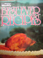 Best Ever Recipes Women's Weekly Cookbook Softcover