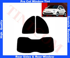 Pellicola Oscurante Vetri Auto Pre-Tagliata Fiat 500 3P 2007-2011 da5% a50%