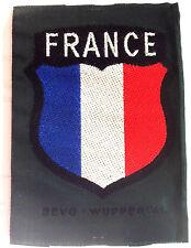 """Ecusson de bras tissé """"France"""" - Frankreich Freiwilliger"""