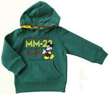 Neu! Disney Mickey Mouse Stretch Kapuzenpullover Sweatshirt Pullover 80 86 92