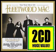 FLEETWOOD MAC (2 CD) THE VERY BEST OF ~ MICK~STEVIE NICKS ~ GREATEST HITS *NEW*