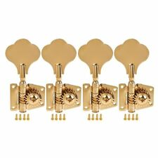 Set of 4 pcs tuning pegs Keys Gold Electric Bass Machine Heads Tuners 4R