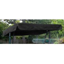 Balancelles de jardin et terrasse noirs