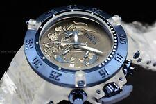 Invicta Men's 50mm Subaqua Koi Fish Chronograph Blue Black Dial Silicone Watch