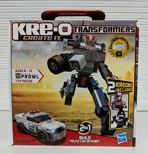 TRANSFORMERS KRE-O PROWL LARGE G1 INSPIRED *MINT*  30690 SWAT HASBRO