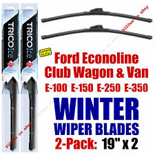 WINTER Wipers 2-Pack Premium Grade fit 1976-1980 Ford E-Series Econoline 35190x2