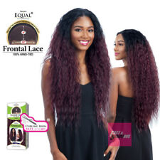 FL 002 - EQUAL FRONTAL LACE HAND-TIED FREE PART HAIR LACE FRONT WIG