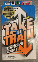 "Bicycle Card Game ""Take The Train"" for 2-6 Players Ages 7+ incl 100 Fare Tokens"