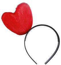 rouge cœur Serre-Tête Neuf - Carnaval Chapeau couvre-chef