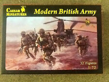 Caesar Miniatures 1/72 Modern British Army  32 Plastic Figures  # 060 Brand New