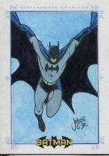 Batman Archives Sketch Card By Jorge Correa