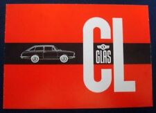 GLAS 1004CL-1304CL SALES BROCHURE (GERMAN TEXT) C 1966.