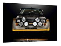 Audi S1 Quattro - 30x20 Inch Canvas - Framed Picture Rally Print Art