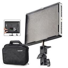 Aputure AL-528C 528PCS High CRI LED Video Studio Light Lamp F DSLR camera +Bag