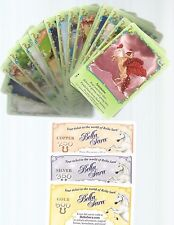 Bella Sara Spring Carnival lot 1-55 card set with 10 stickers and 6 code cards