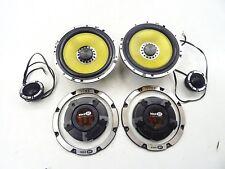 VIBE BLACK AIR Component System Lautsprecher Set Weichen 360W