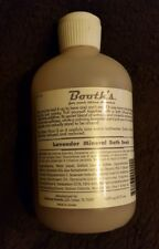 BOOTH'S Lavender Mineral Bath Body Soak 16 oz / 473 mL NEW Large Size B-21116