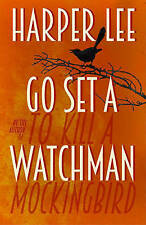 Go Set a Watchman Hardback Lee Harper To Kill A Mockingbird Fiction Book Gift