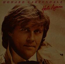 """HOWARD CARPENDALE - HELLO AGAIN 12"""" LP (T 724)"""
