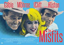 GLI SPOSTATI THE MISFITS POSTER MARILYN MONROE CLARK GABLE JOHN HUSTON CLIFT
