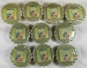 Yankee Candle Tarts: SAGE & CITRUS Wax Melts Lot of 10 Green New Earthy Classic