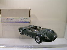 DAM MINIATURES JAGUAR XJ13 BRG RESIN HANDBUILT+ BOX 1:43