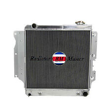 ALUMINUM RADIATOR FOR 1987-2004 JEEP WRANGLER YJ GM CHEVY V8 CONV 3ROW