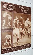MIROIR SPRINT N°182 1949 FOOTBALL OGC NICE LOSC LE HAVRE BASKET BOXE RUGBY