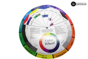 Colour Wheel Guide Microblading Tattoo SPMU - STURDY & BRIGHT COLOURS