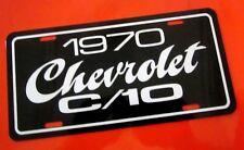 1970 Chevrolet C/10 pickup truck license plate tag 70 Chevy C10 half ton C-10