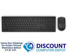 Dell Wireless Keyboard & Mouse Combo KM636-BK-US USB Black (580-ADTY)