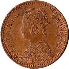 1895 British India 1/12 Anna (1 Pie) Coin Victoria KM#483 High Grade