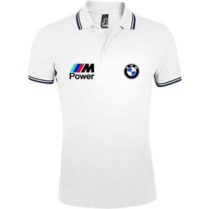 polo homme BMW M Power performance qualité motorsport auto moto