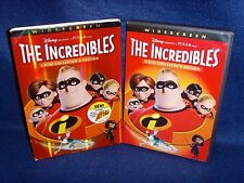 Disney•Incredibles (DVD, 2005, 2-Disc Set, Collector's Edition) No Scratches•USA