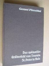 Das spätantike GRÄBERFELD von TEURNIA St. Peter in Holz Piccottini Archäologie